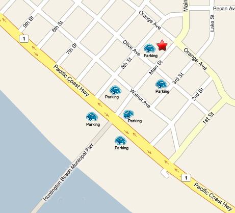 Main Street Wine Bar Map
