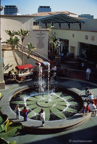Fashion Island Fountain