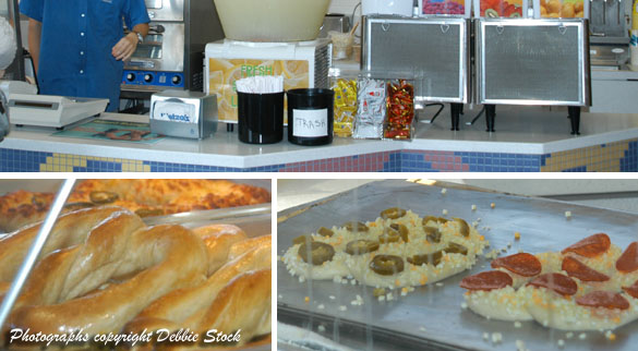 Pictures of Wetzel's Pretzels menu, store and food in Huntington Beach